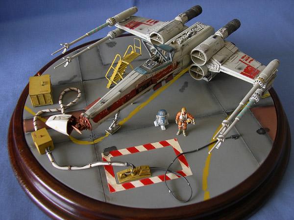 Maquettes Star Wars et spatiales La Redoute